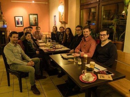 Besprechung des FSH-Projektteams am 27.02.2018. Foto: Bild: Shabka, CC BY-NC-ND 4.0.