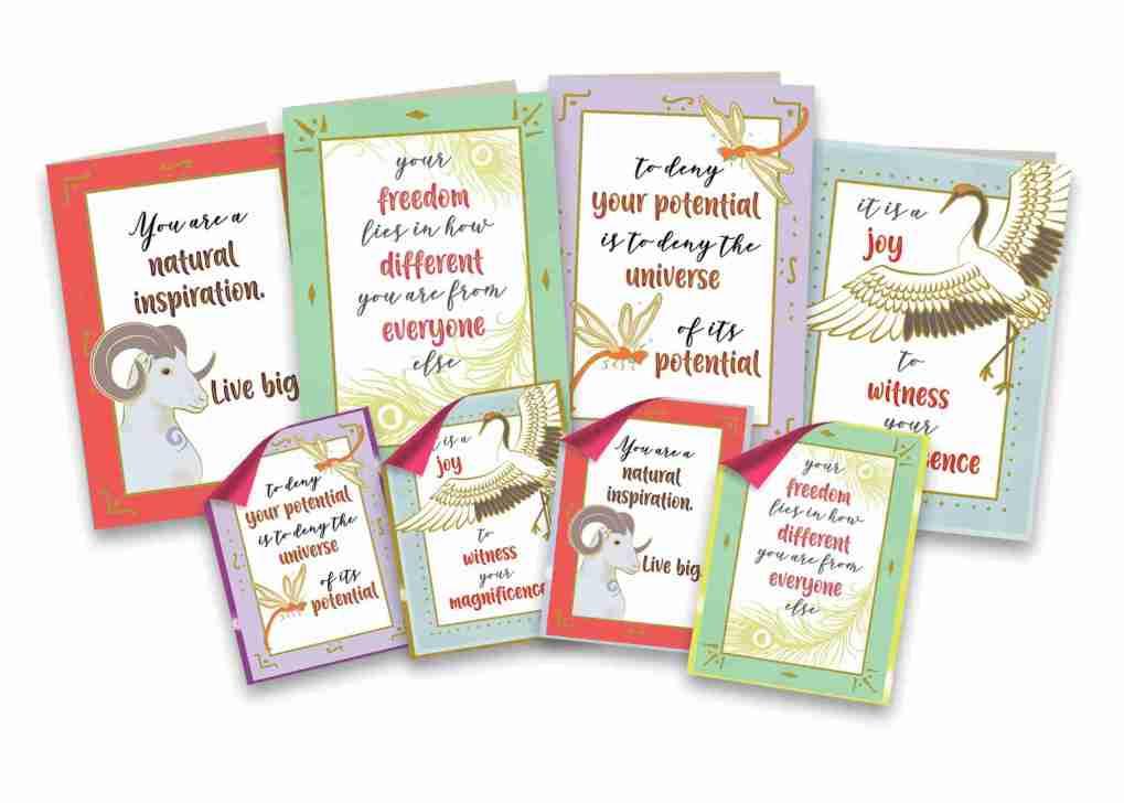 Card N' Sticker Bonanza contents