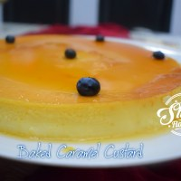 Caramel Custard ~ Baked Version