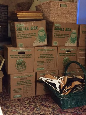 13 book boxes (not including cook books)