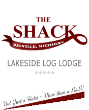 Shack log lodge inn website logo -image