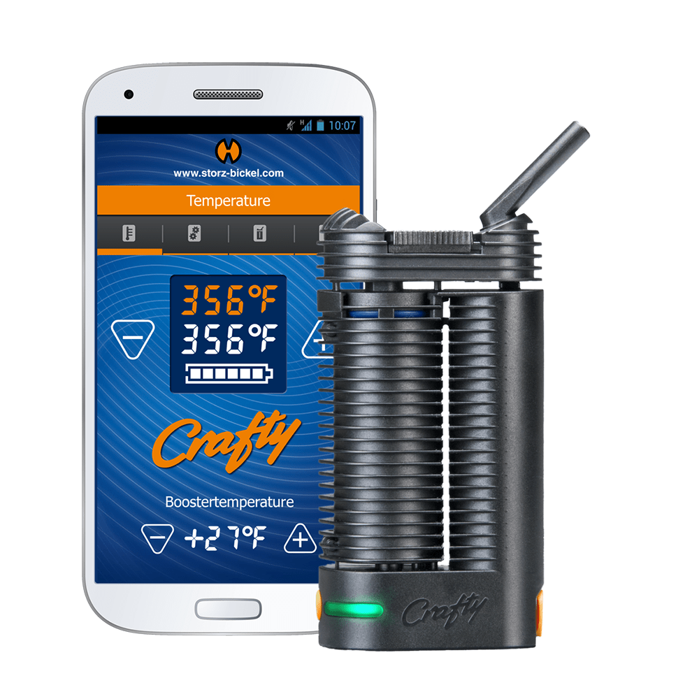 Crafty Vaporizer by Storz & Bickel (The Best Portable Marijuana Vaporizer Overall)