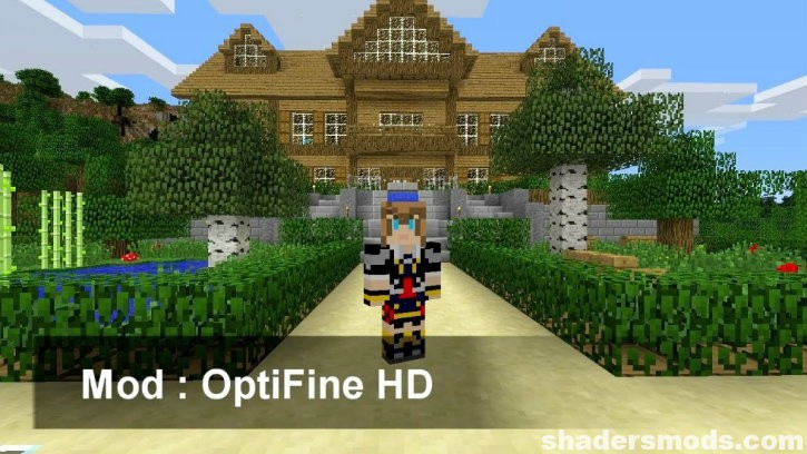 Optifine HD Mod for Minecraft 1 14 4/1 14 3/1 13 2/1 12 2