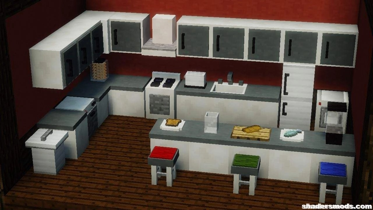 Mrcrayfishs furniture mod for minecraft 1 12 2 1 11 2 1 10 2 shaders mods
