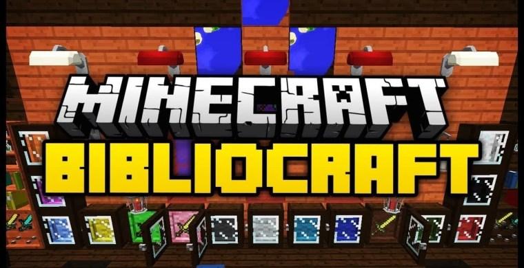 Bibliocraft Mod for Minecraft 1.12.2/1.11.2