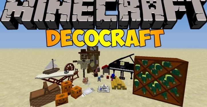 Decocraft Mod for Minecraft 1.12.2