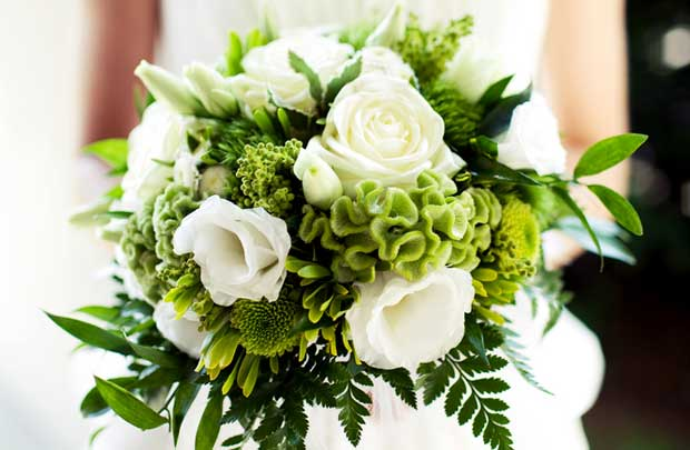 Kerry Wedding Flowers - Shades Of