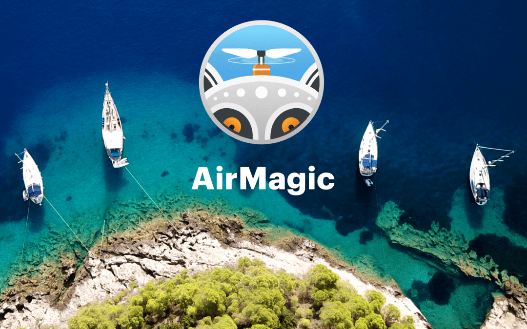 AirMagic the new AI based Drone Photography software