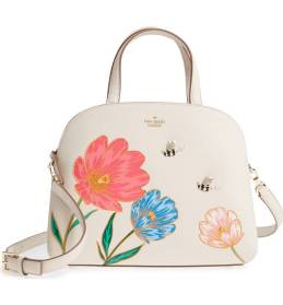 Kate Spade Picnic Perfect Lottie Leather Satchel