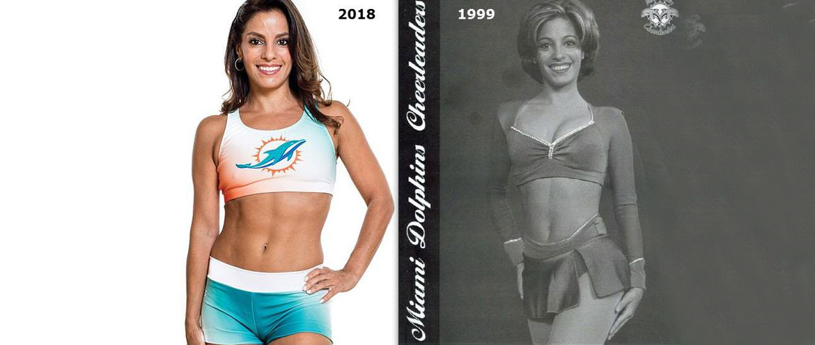 Auditioning for The Miami Dolphins Cheerleaders at 41