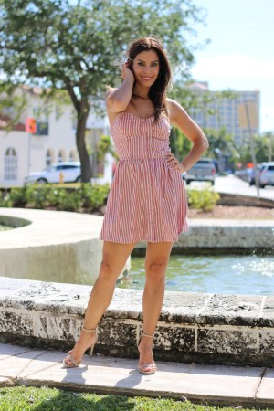 The Perfect Stripe Dress for Sunny Days