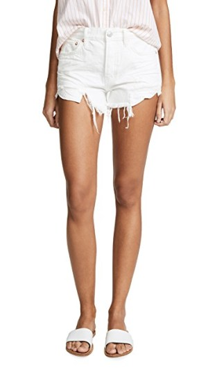 Free People Loving Good Vibrations Shorts
