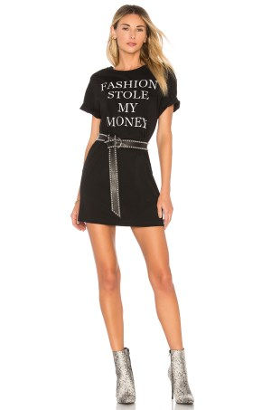 X REVOLVE FASHION TEE DRESS