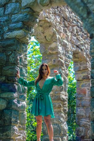 Green Dress, Hiking, and an Adventure