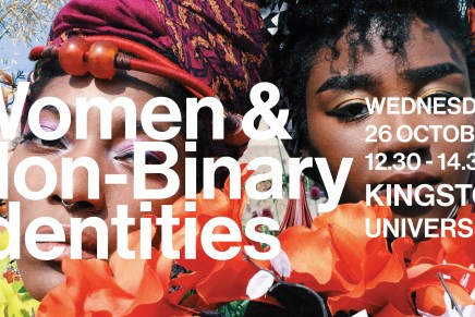 Women and Non-binary identities @ Central Saint Martins.