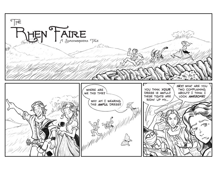Intermission: The Rhen Faire | Page #1