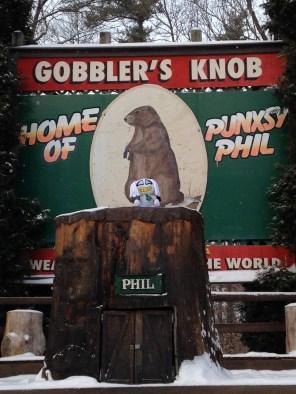 gobbler's knob in punxsutawney pennsylvania