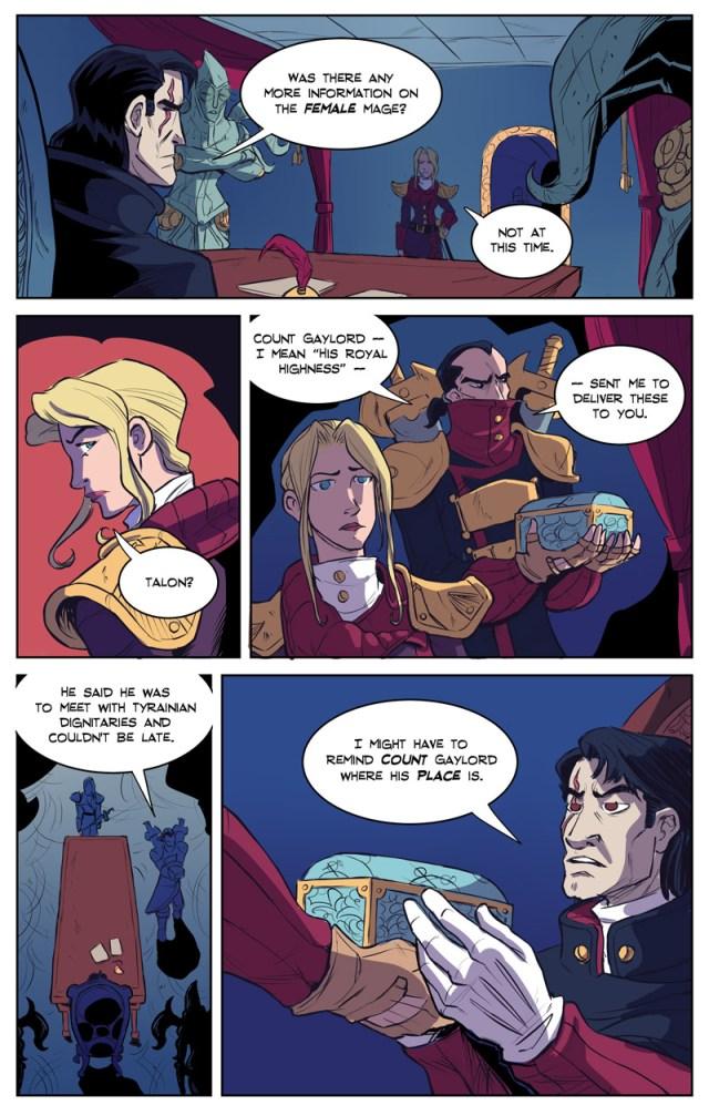 "Shadowbinders Webcomic You can also subscribe to Shadowbinders on LINE Webtoon here. Story: Kambrea Pratt Art: Thom ""Kneon"" Pratt Colors: Veronica Murrell"