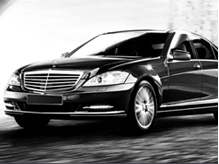 Mercedes S-Class at Shadow Carriage, luxury exectutive chauffeur driven car service