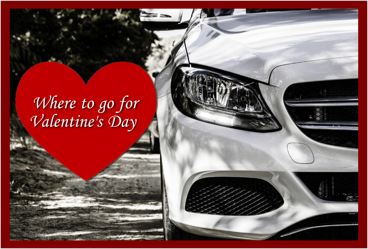 Mercedes car service for Valentines Day from Shadow Carriage, luxury cars Maidenhead