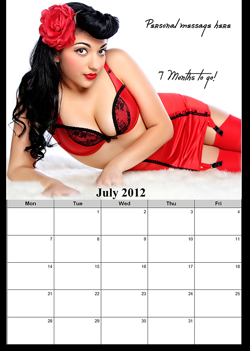 Deployment Homecoming Countdown Calendar for him OR for her!~ San Diego Boudoir Photographer (4/6)