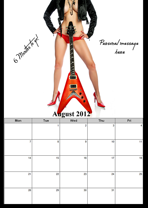 Deployment Homecoming Countdown Calendar for him OR for her!~ San Diego Boudoir Photographer (5/6)