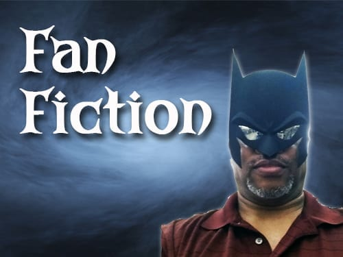 Mark Wooden as Batman for fanfiction