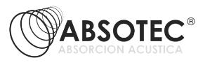 absorción acustica Web, videos y SEO