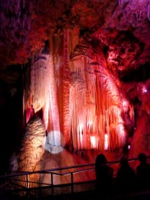Finale of the Meramec Cavern tour