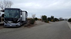 Rolling Hills Casino RV Park - really just a parking lot behind a truck stop