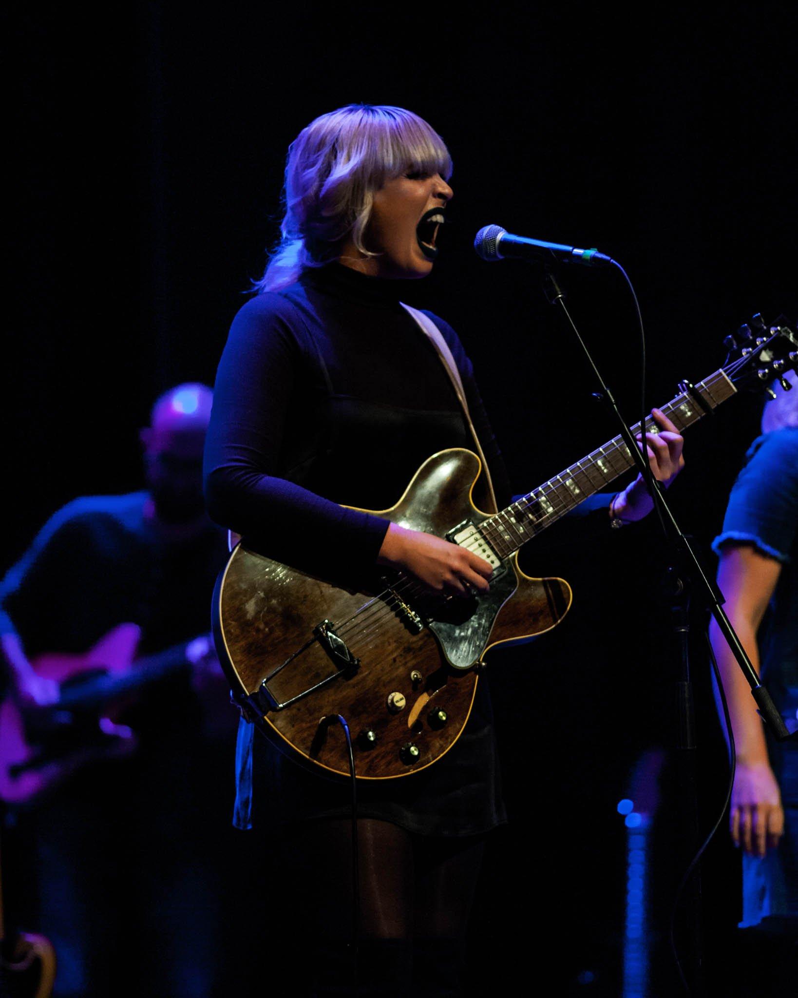Elizabeth Moen playing at The Englert Theatre in Iowa City