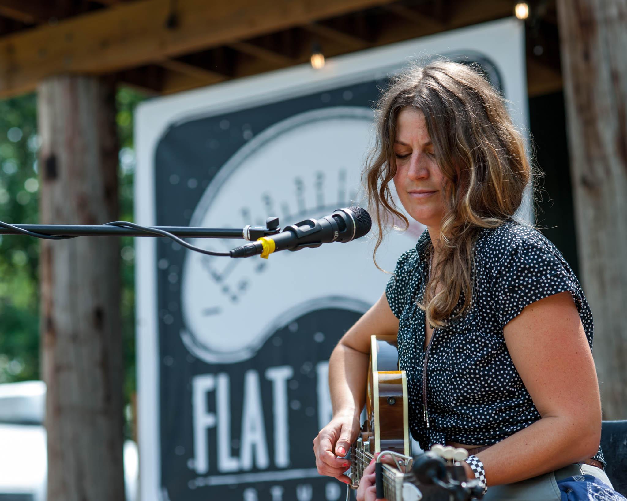 Jordan Sellergren playing Grey Area 2018 at Flat Black Studios near Iowa City