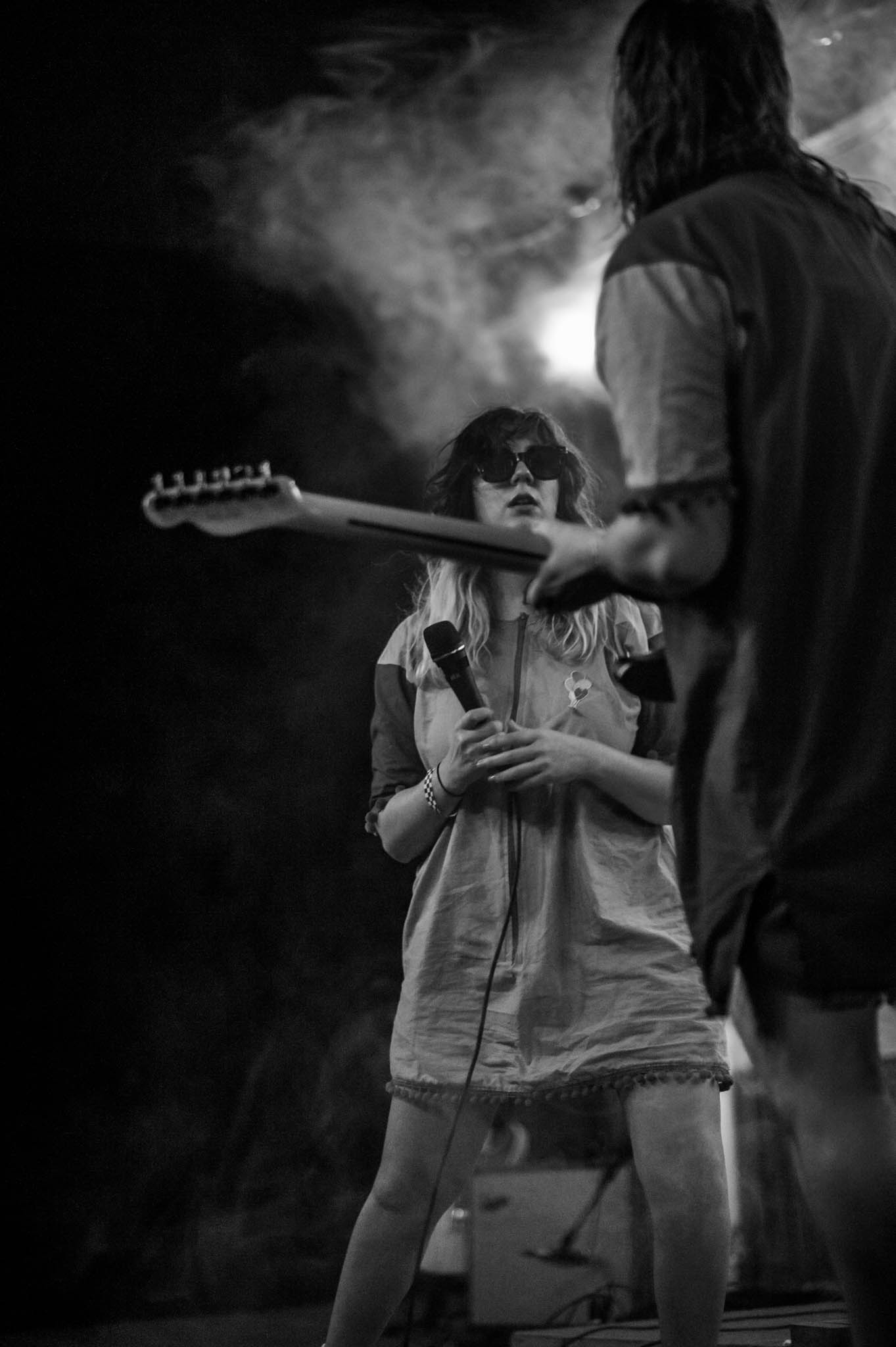 Karen Meat playing Grey Area 2018 at Flat Black Studios near Iowa City