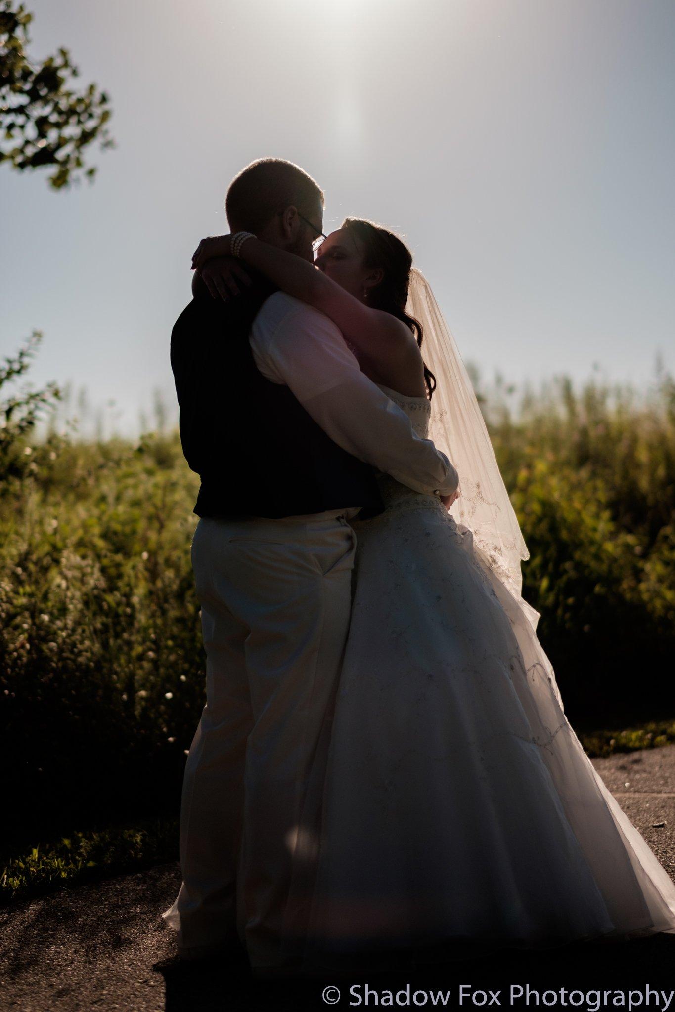 Beautiful outdoor summer wedding in Iowa