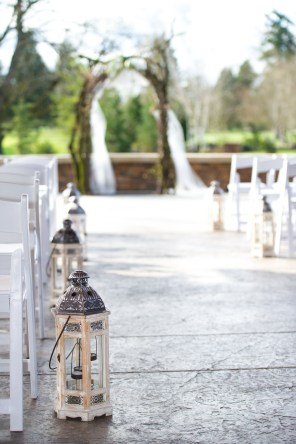 lanterns for the aisle
