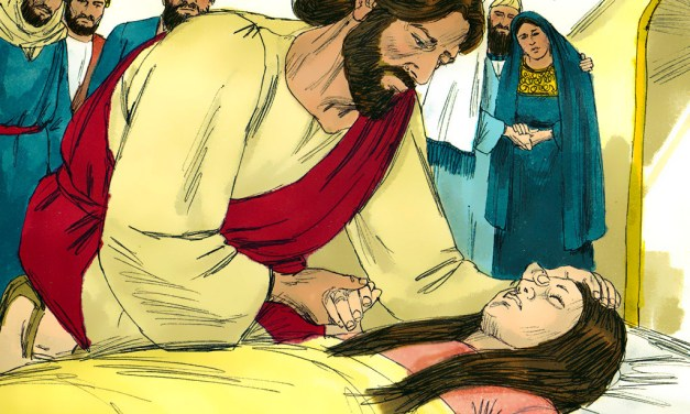 Extreme Savior! Jesus Gives Extreme Healing: Jairus's Daughter