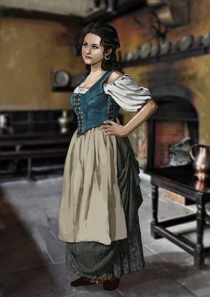 Anastasia, camarera.