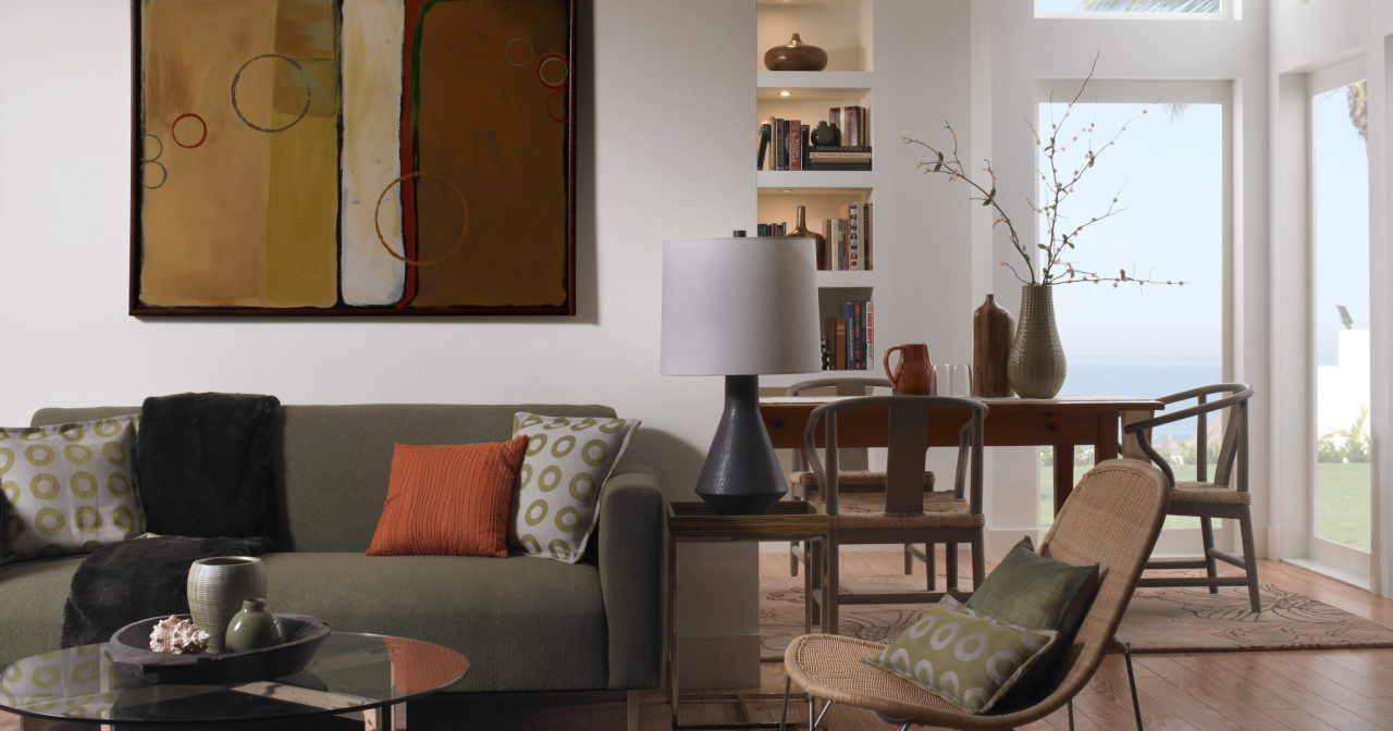 Valspar Living Room Set Styling