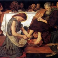 Christ Washing Peter's Feet