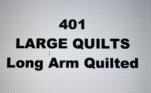 401-00.LARGE QUILTS