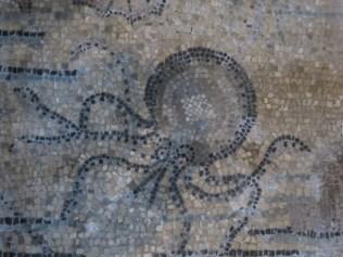 Octopus detail on Aquileia mosaic floor. http://www.mosaicartnow.com/2013/11/mosaic-masterpieces-tour-2013-part-1-venice-clauiano-udine-spilimbergo/ aquileia moctopus