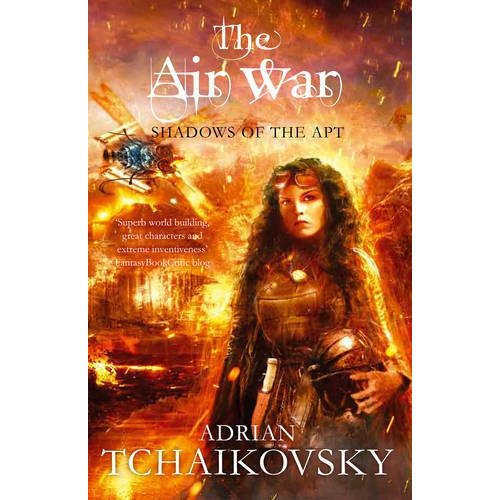 "Cover art for ""Shadows of the Apt, book eight: The Air War"" by Adrian Tchaikovsky"