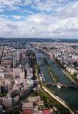 Looking across Paris