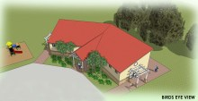 Community Center concept drawing