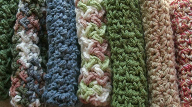 cotton washcloth diy