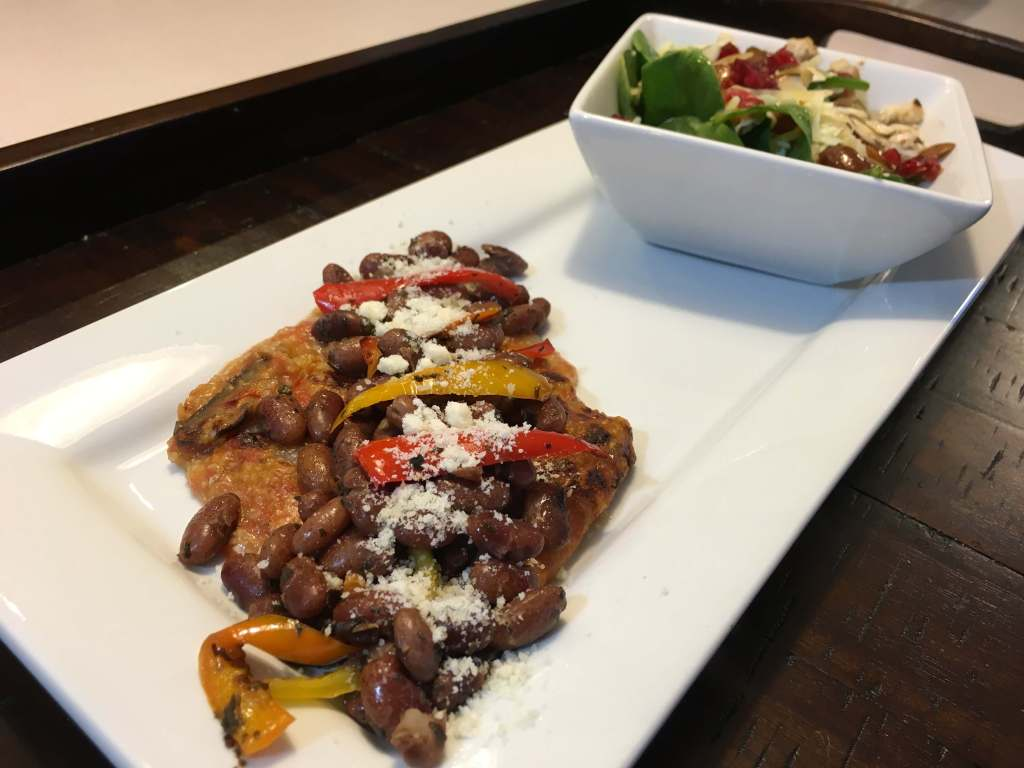 Polenta with Beans and Peppers | Shady Side Farm | Holland Michigan
