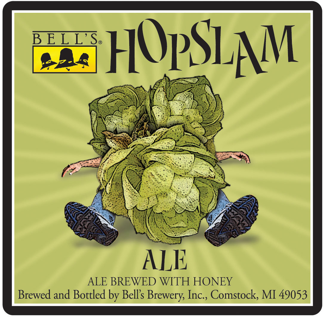 Bell's Hopslam is NOW available at Shady's Tap Room in Brooklyn MI