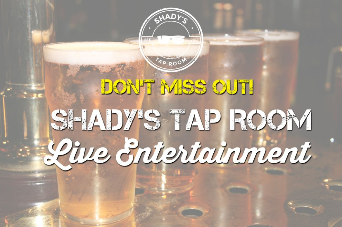 Saturday December 9, 2017 - Live Entertainment Featuring The Pickled Poppas
