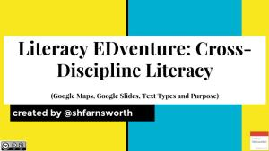 Sharing Cross-Discipline Literacy EDventure