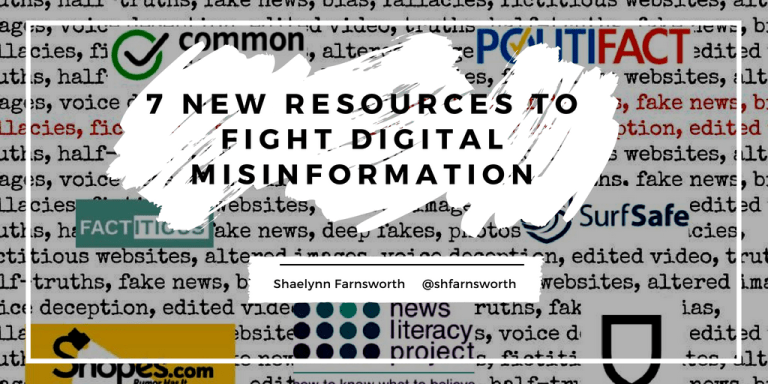 7 New Resources to Fight Digital Misinformation